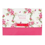 Sweet Pea&hnysckle Scented Drawer Liners 5sht (FG5604)