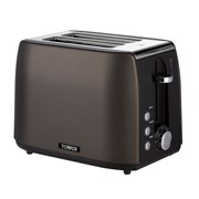 Tower 2 Slice Graphite Toaster (T20021)
