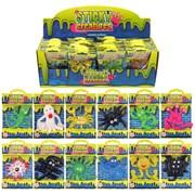 Henbrandt Sticky Creatures Assorted 9-11cm (t51119)