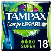 Tampax Compak Super Pmp 2.99 18's (57766)