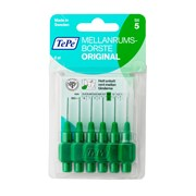 Tepe Interdental Brushes 6 Brush Green 0.8 (114662)