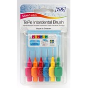 Tepe Interdental Brushes 6 Brush Mixed (132699)
