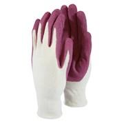 T&c Bamboo Gardening Gloves Raspberry Small (TGL5267)