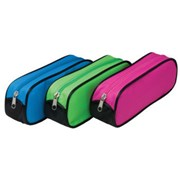 Tiger Oval Wedge Pencil Case Asst (301865)