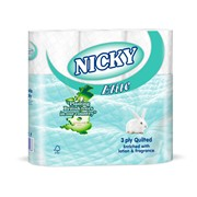 Nicky Elite Toilet Roll White 9pk (415674)