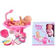 Baby Doll Bathtime Play Set (TY4310)