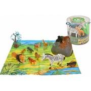 18 Piece Wild Animals Set (TL659)