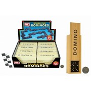 Dominoes In Wooden Box (TY8460)