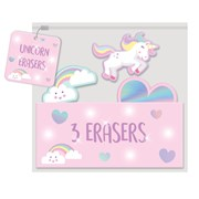 Unicorn Novelty Erasers (UNIL)