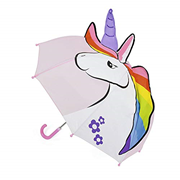 Kids 3d Unicorn Dome Umbrella (UU0338)