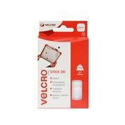 Velcro® Brand Velcro Hook & Loop Stick On Squares White (07179)