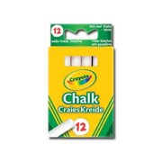 Crayola Anti Dust Chalk White 12s (01.0280)