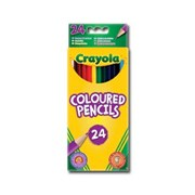 Crayola 24 Coloured Pencils (03.3624)