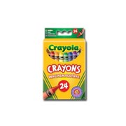 Crayola 24 Assorted Crayons (02.0024)