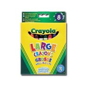 Crayola 8 Ultra Clean Large Crayons (52-3282-E-000)