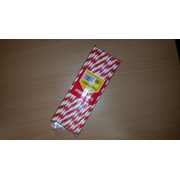 Striped Red Paper Straws 30s (VSTRPS30)