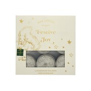 Wax Lyrical Tealights Crystal Festive Joy (CHR4803)