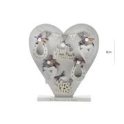 Wedding Heart Asst (8WG166)