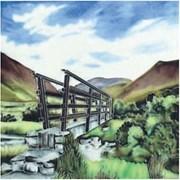 Benaya Tiles Wood Bridge 8x8 (BE171055)