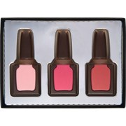 Weibler Decorated Milk Choc Nail Varnish Set 70g (WR63)