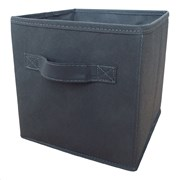 Russel Foldable Storage Box Grey Small (WS8193S)