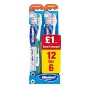 Wisdom Medium Interdental Toothbrush 12/6 (2211MSB)