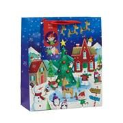 Christmas Village Gift Bag Medium (X-180-M)