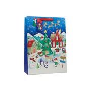 Christmas Village Gift Bag Xlarge (X-180-XL)