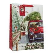 Car & Tree Gift Bag Xlarge (X-185-XL)