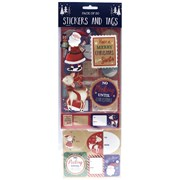 Stickers & Tags 30pk (X-206-30S)