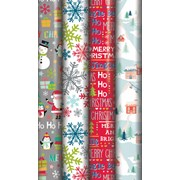 Contemporary Christmas Roll Wrap 5mt (X-25539-GW)
