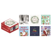 Boxed Christmas Cards 30s (X-25683-C)