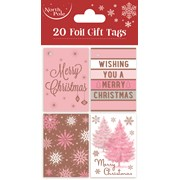 Pink Gift Tags 20s (X-25752-GT)