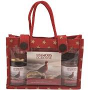 Bramble Famous Grouse Jute Bag (X2470)
