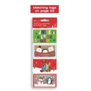 Giftmaker Self Adhesive Novelty Kids Tags 20s (XAGGT1031)