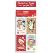 Giftmaker Self Adhesive Cute Characters Tags 20s (XAGGT1037)