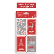 Giftmaker Self Adhesive Cosy  Tags 20s (XAGGT1038)