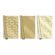 Golden Luxury Foil Roll  Wrap 2m (XAHGW112)