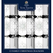 Silver & White Family Crackers (XAHTS1404)