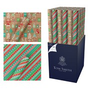 Krafty Christmas Roll  Wrap 3m (XAHTW512)