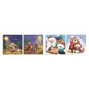 Giftmaker Cute Mini Sq Cards Asstd 20s (XAJGC500)