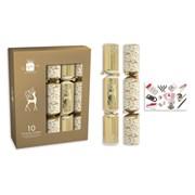 "Giftmaker Crackers Cream & Gold 10x14"" (XAJGS401)"