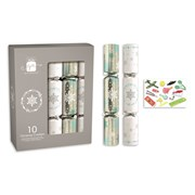 "Giftmaker Crackers Silver & White 10x12"" (XAJGS500)"