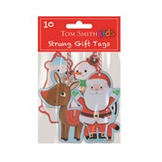 Tom Smith Santa & Friends Tags 10s (XAJTT514)