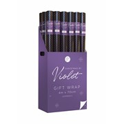 Violet Christmas Traditions Gift Wrap 4m (XBV-22-4GW)