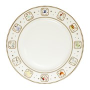 "12 Days Of Christmas Dinner Plate 10.5"" (XM4485)"