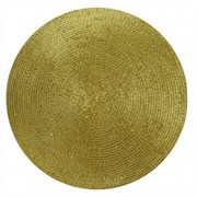 Metallic Placemat Gold (XM4559)
