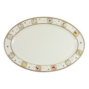"12 Days Of Christmas Platter Plate 14"" (XM4623)"