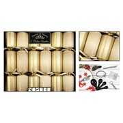 Deluxe Gold Scatter Crackers 6s (XM4850)