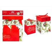 Gift Boxes Trad 2pk (XM4904)